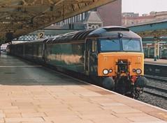 "Arriva Trains Wales Liveried Class 57/3, 57314 (37190 ""Dalzell"") Tags: atw arrivatrainswales vt virgintrains thunderbird brush type4 gm generalmotors geneticallymodified bodysnatcher class47 class473 class57 class573 57314 47372 d1891 newport"