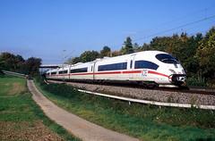 406 582  Sachsenheim  09.10.10 (w. + h. brutzer) Tags: sachsenheim eisenbahn eisenbahnen train trains deutschland germany railway triebzug triebzüge zug ice db 406 webru analog nikon