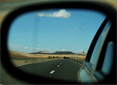 Looking Rear (Steff Photographie) Tags: maroc travel road desert art canon flickr