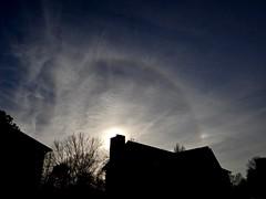 Sunbow and Sundog (Deepereyes) Tags: sun sunbow sundog rainbow haze