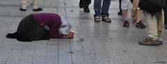 (primo fusari) Tags: parigi povertà clochard
