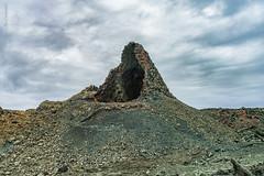 Hornito Manto de la Virgen - Lanzarote (Jose Castanedo) Tags: 2016 españa europa islascanarias lanzarote timanfaya volcán exterior horizontal paisaje tubovolcánico tinajo canarias es hornitomantodelavirgen