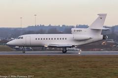 D-AHER - 2000 build Dassault Falcon 900EX, arriving on Runway 26 at Luton (egcc) Tags: 78 bizjet dagsi daher dassault eggw fgxhg falcon falcon900 falcon900ex gdaex hrn hrn511 heronaviation ltn lightroom london luton