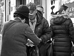 Deal... (HARU1231) Tags: streetphoto snapshot snap street streetportrait bw blackandwhite monochrome candid digital panasonicgf1 korea southkorea