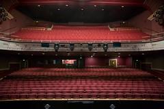 Was it something I said? (Rockallpub) Tags: theatreroyal stage theatre norwich red stalls empty seats circle 12800
