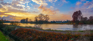Syon House & The Thames From Kew 1 by Simon & His Camera