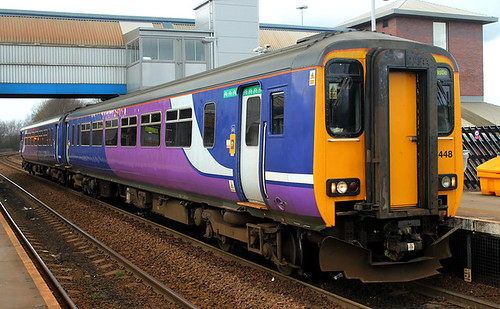 Class 156: 156448 Northern MetroCentre