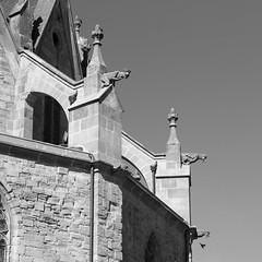 Cathédrale de Mirepoix (ChristianLeduc) Tags: 09 2017 ariége bastide france hiver midipyrénées mirepoix occitanie