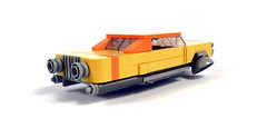 1966 Chevrolet Hyperion LE (timhenderson73) Tags: lego custom moc retro future hover car chevrolet hyperion sci fi atomic