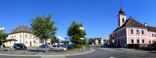 Kněžmost - Náměstí Na Rynku (Fürstenbruck - Marktplatz)