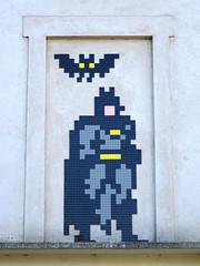 PA_1261 (antoineallain) Tags: pa1261 batman paris invader spaceinvader invaderwashere mosaic pixel streetart