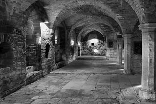Underneath the Abbey Ruins