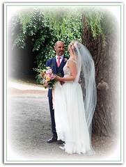 Sweet Moment (FernShade) Tags: vancouver stanleypark brideandgroom lostlagoon bridalcouple weddingcouple romanticmoment