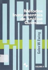 Mtodos instrumentais de anlise qumica (Biblioteca IFSP SBV) Tags: instrumental analise