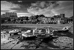 Viking Bay (Jason 87030) Tags: camera bw holiday boats mono coast kent seaside shot harbour august broadstairs vikingbay 2015