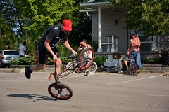 Bmx Flatland 2 (Braden Bygrave) Tags: sport cool nikon bmx awesome flash superman trick nohands flatland xup dirtjumps tailwhip barspin sportphotography nikonphotography nikonphoto yn460 nikond7100