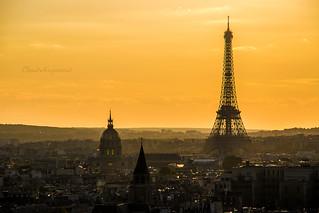 Electric Mist Over Paris