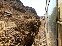 ( ) Tags: mountain train aswan nuba