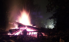 Camp Fire (TowardsTheEnd) Tags: camp black night dark fire evening flames burning flame nighttime burn
