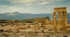 Greek Temple  - Rhodes Island Greece (mbell1975) Tags: island greek temple ancient ruins hill ruin insel greece hillside isle rhodes hilltop rhodos rdos