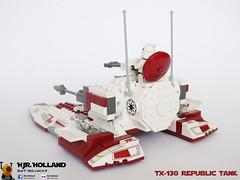 TX-130 Republic Tank 06 (HJR-Holland) Tags: star fighter republic tank tx wars clone 130 tx130 saberclass iftx