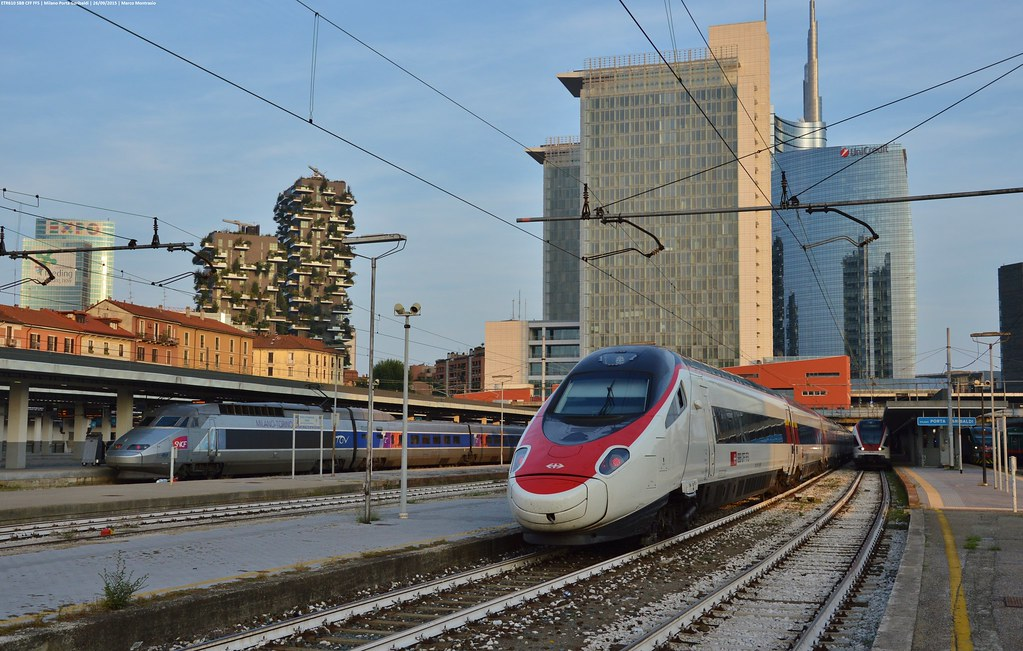 The world 39 s most recently posted photos of sbb and tilo - Booking milano porta garibaldi ...