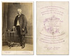 Carte de visite photo of man (leightonian) Tags: uk portrait buckinghamshire cartedevisite bucks sebright linslade