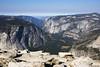 Yosemite Valley from Half Dome (isaac.borrego) Tags: nationalpark valley yosemite halfdome elcapitan sierranevada yosemitevalley canonrebelt4i