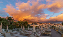 It's Behind You (nicklucas2) Tags: travel sunset clouds caldera tenerife sundeck