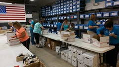 """Sponsored Packing Event with Lake Worth Columbiettes • <a style=""""font-size:0.8em;"""" href=""""http://www.flickr.com/photos/58294716@N02/22508265292/"""" target=""""_blank"""">View on Flickr</a>"""