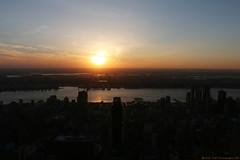 """Empire State"" Views (Rick & Bart) Tags: city nyc sunset urban panorama usa sun sunlight newyork canon view manhattan empirestate observationdeck midtownmanhattan rickbart rickvink eos70d"