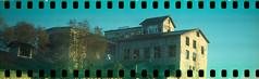 (No Stone Unturned Photography) Tags: camera city lake art abandoned film 35mm cross kodak salt slide holes 1600 modified expired deco ektachrome processed folding jiffy 1933 sprocket 616 urbex six16