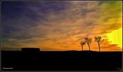 Le ciel s'embrase en Bourgogne (Dominique Dufour) Tags: ciel coucherdesoleil fujis5pro dominiquedufourphotos