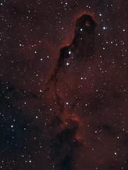 The Elephant's Trunk (jschr338) Tags: nebula cepheus halpha oiii astrophotography astronomy atik pixinsight stars 428ex