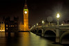 Westminster by night (OzzRod) Tags: pentax k1 hdpentaxdfa2470mmf28 night clock tower bigben bridge river thames westminster