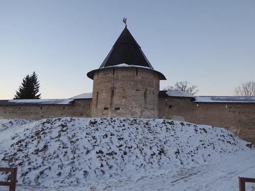 Изборская башня.