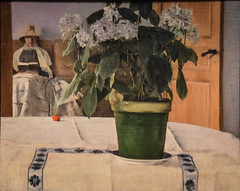 Fernand Khnopff - Hortensia, 1884 at Metropolitan Museum of Art New York City NY (mbell1975) Tags: newyork unitedstates us fernand khnopff hortensia 1884 metropolitan museum art new york city ny nyc manhattan museo musée musee muzeum museu musum müze finearts fine arts gallery gallerie beauxarts beaux galleria painting met belgian symbolist impression impressionist impressionism