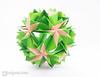 Origami Kusudama (Maria Sinayskaya) Tags: 10010 15cmdoublesided daiyoshiko folded kamipaperduocolorcolor kusudama mariasinayskaya modularorigami origami origamikusudama square мариясинайская