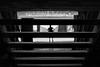 Waiting in black stripes. (Christian S. Mata) Tags: nikon d5300 black stairs contrast man street nikkor 50mm cineteca nacional coyoacán méxico white