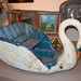 Antique merry-go-round swan