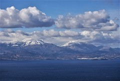 Snow covered peaks above Ag. Nikolaos (brianshipman18) Tags: gününeniyisi thebestofday
