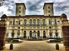 Galleria Borghese, Rome, Italy. Building Exterior Architecture Outdoors Façade Travel Destinations City Historic Building Rome Italy IPhoneography Metapolitica (Massimo Virgilio - Metapolitica) Tags: buildingexterior architecture outdoors façade traveldestinations city historicbuilding rome italy iphoneography metapolitica