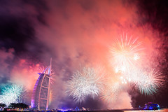 New Year in Dubai - Burj Al Arab
