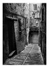Treia (MC), Italy (pietrowsky) Tags: landscape urban street blackandwhite alley court italy village treia macerata marche monochrome film darkroom analogue door wall brick kodak tmax fuji ga645 medium format filmisnotdead believeinfilm biancoenero pellicola paesaggio italia strada vicolo borgo rural rurale camera oscura monocromatico analogico medio formato