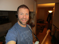 Day 004 (GearBoxTy) Tags: 365days canonpowershotelph170is beard warmoth headphones