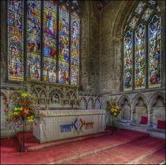 Olney Church Interior 6 (Darwinsgift) Tags: olney church buckinghamshire england pce nikkor tilt shift 24mm f35 nikon d810 hdr photomatix interior