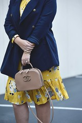 Winter Brights (GirlWithCurves) Tags: coats dresses floralprints mididresses peacoat prints pumps shoulderbags winterbrights