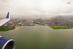 Bay area descent (A. Wee) Tags: sanfrancisco 旧金山 三藩市 california 加州 usa 美国 embraer e175