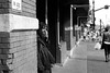Suspicious (TnOlyShooter) Tags: streetphotography nashville tennessee olympusom1 olympusomzuiko50mmf18 kodaktrix400 findlab film analog believeinfilm filmisnotdead