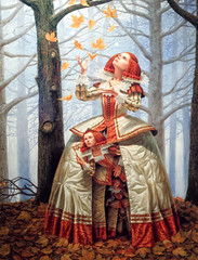 Enigma of Generations (Yuri Dedulin) Tags: 12nightmediterranean 2016 art artgallery yuridedulin michaelcheval surrealistic oil paintings drawings portraits newyork artist enigmatic surrealism absurdity dutch flemish compositions modernart